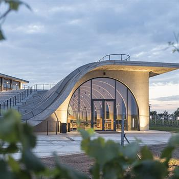 Czech Republic's Lahofer Winery completed by Chybik + Kristof Architects