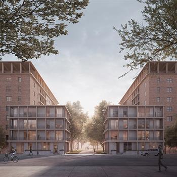 Design team's strategic report tackling NYC's public housing problem