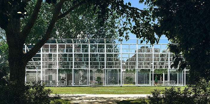 Mendel Greenhouse where 'foundations of modern genetics were laid' revived by CHYBIK + KRISTOF