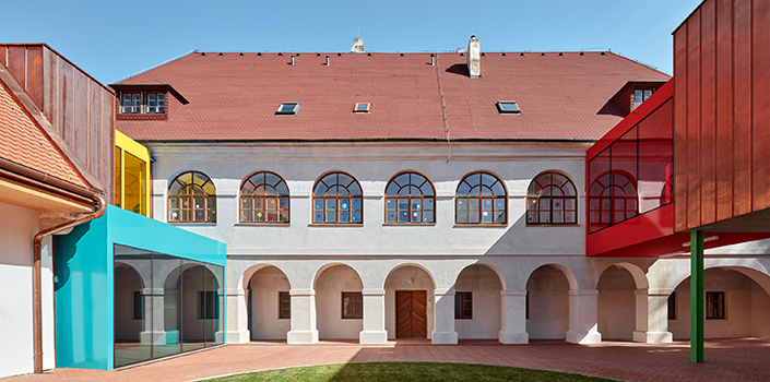 Czech Republican rectory reconstructed from parish to primary school