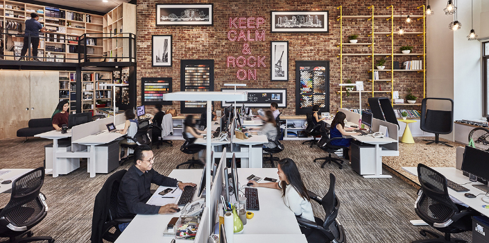 Employees: Inspiration for Office design