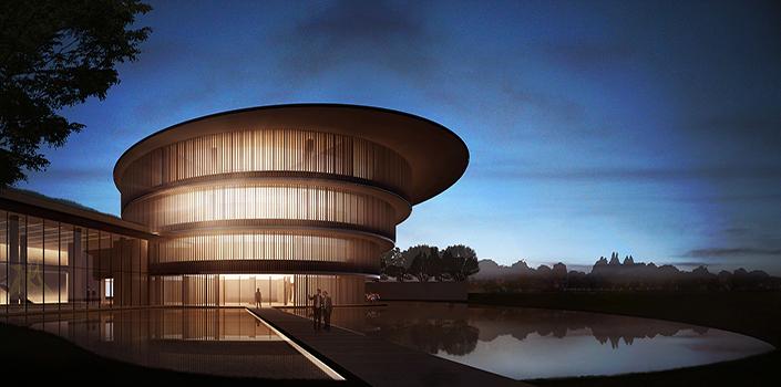 Tadao Ando Architect & Associates reveal their design for China's He Art Museum