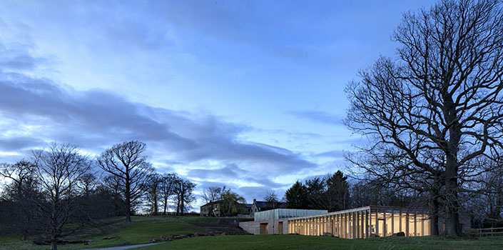 Stunning new visitor centre, gallery and shop for Yorkshire Sculpture Park