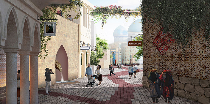 New Zealand, deserts, Turkistan City, the Antartic: visionary future projects