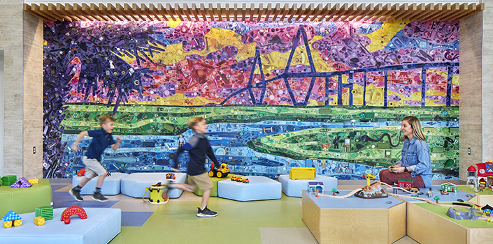 America's Autism-friendly hospital by Perkins&Will sets design precedent