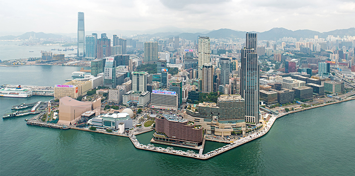 2020 WAN Awards entry: Tsim Sha Tsui Waterfront Revitalization, Avenue of Stars and Salisbury Garden - James Corner Field Operations