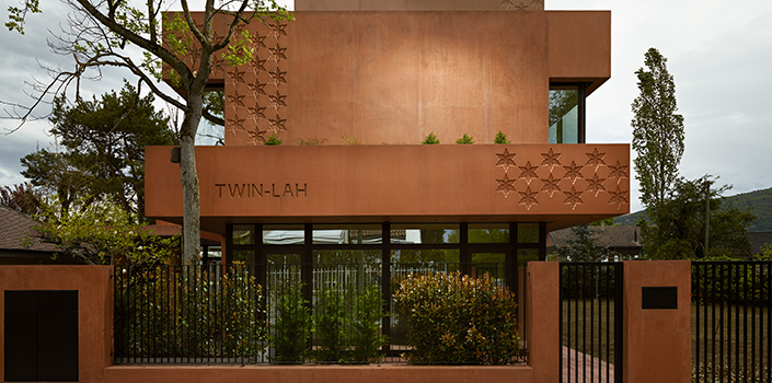 The Twin-Lah: design duo's cosmopolitan construction in Switzerland