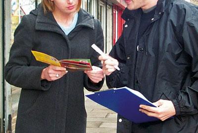 Street fundraising
