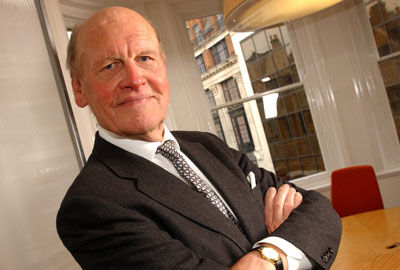 Sir Alec Reed, who set up the Big Give