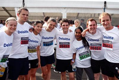 Deloitte fundraisers
