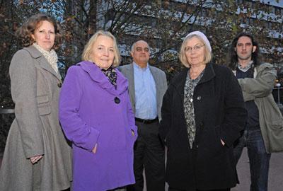 Third Sector's Austerity Watch panel: Helen Simmons, Dame Mary Marsh, Uday Thakkar, Cathy Pharoah and Toby Blume