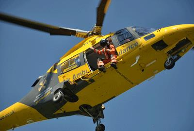 The Air Ambulance Service has taken over the under fire Children's Air Ambulance