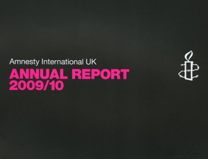 Amnesty International UK annual report