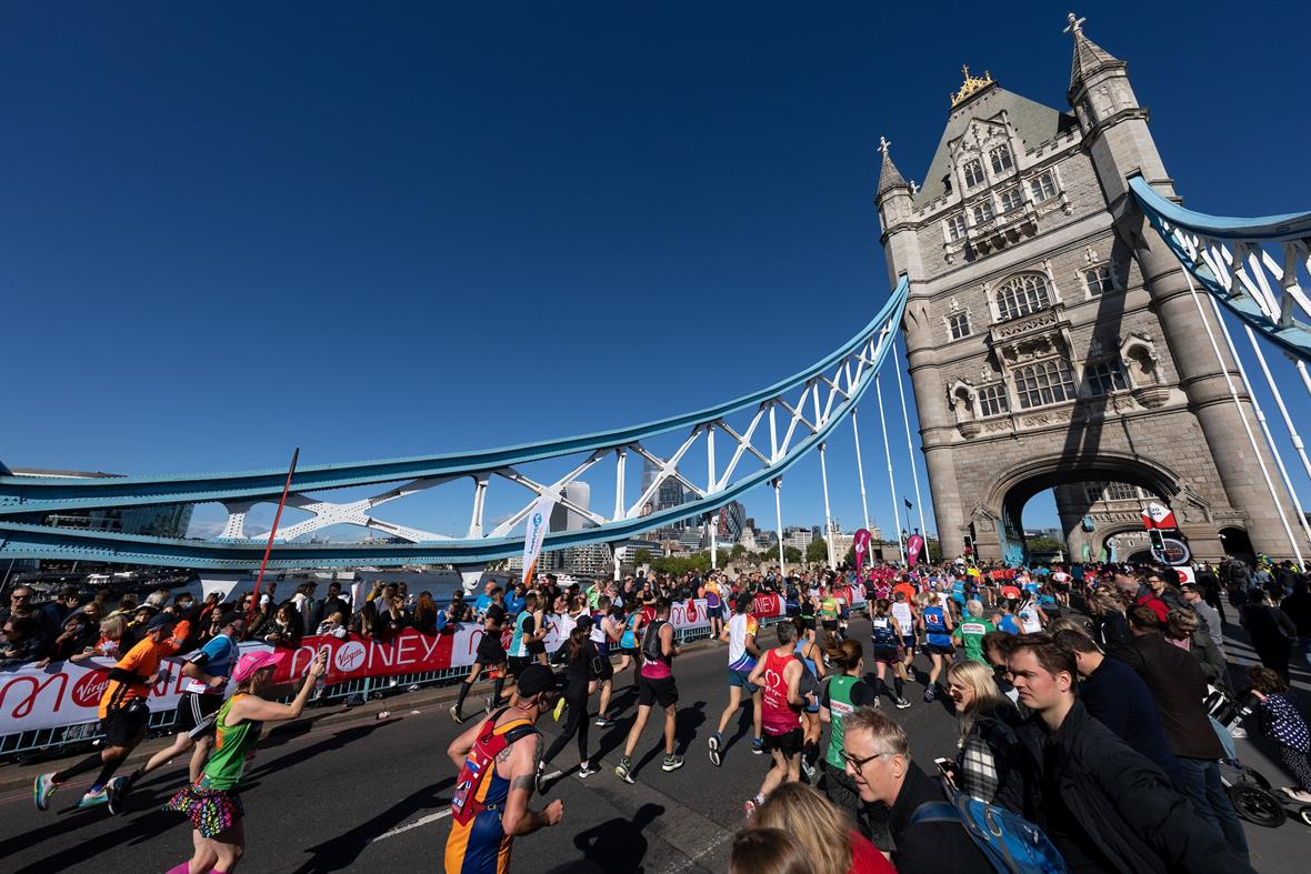 (Photo credit: Virgin Money London Marathon)