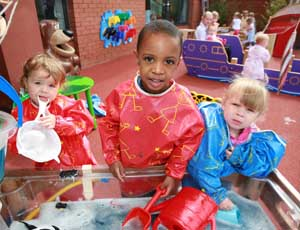 Early years services: Offers greater role for charities