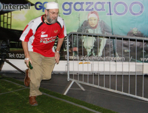 100m relays raised money for Gaza