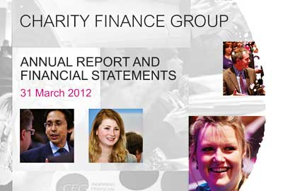 Charity Finance Group's annual report