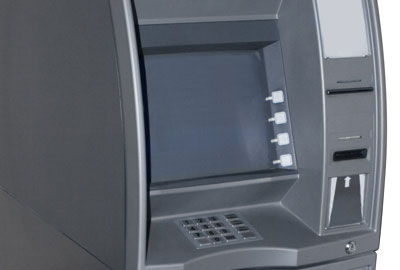 Cash machine giving