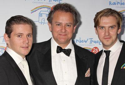 [l-r] Allen Leech, Hugh Bonneville and Dan Stevens