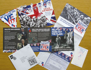 Royal British Legion VE Day fundraising pack