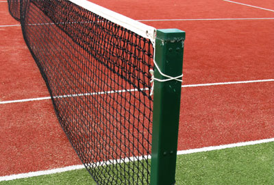 The Tennis Foundation provides tennis facilities