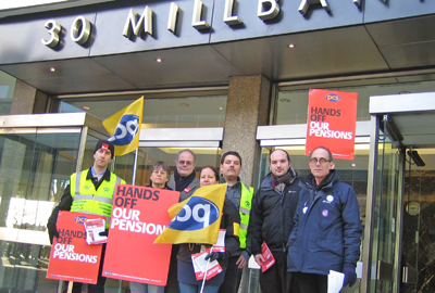 Strike at the Charity Commission in 2011
