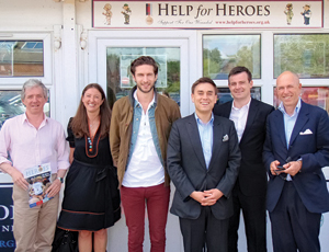 Help for Heroes and GQ