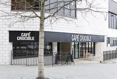 Cafe Crucible: Sheffield cafe was built with a grant from the Foyle Foundation