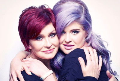 Sharon and Kelly Osbourne