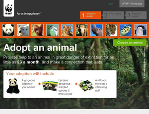 WWF-UK website