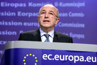 Joaquín Almunia, vice-president of the commission