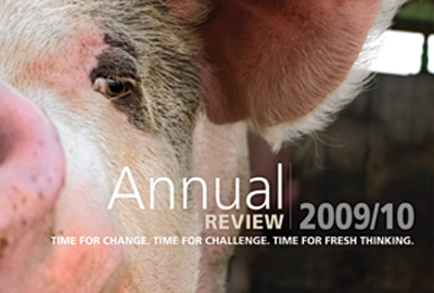 Compassion in World Farming's annual report