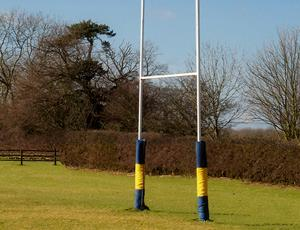 Land is leased to a rugby club
