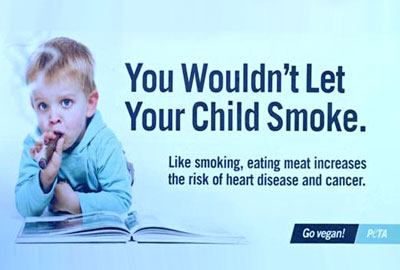 The Peta advert