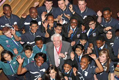 Jack Petchey: His foundation invests heavily in grass-roots youth organisations