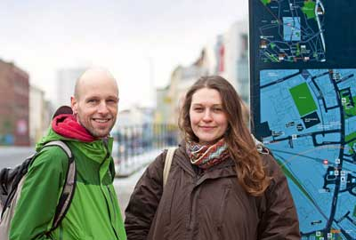 Community organisers: Steve Crozier and Rebecca Cant