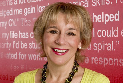 Martina Milburn, chief executive of the Prince's Trust