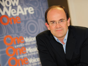 Tom Wright, chief executive, charity formed by the merger of Age Concern and Help the Aged
