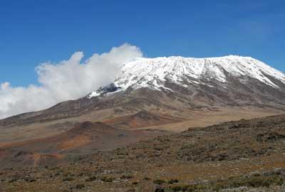 Volunteer fundraisers have climbed Mount Kilimanjaro