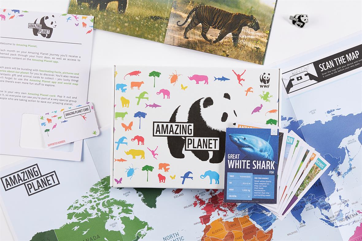 Amazing Planet: the subscription offering from WWF