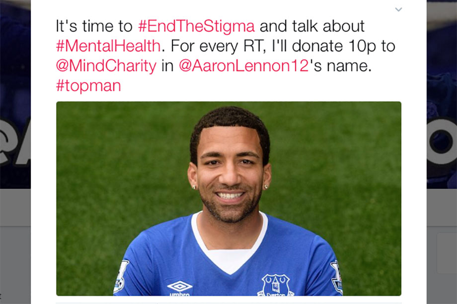 Andy Johnson's tweet