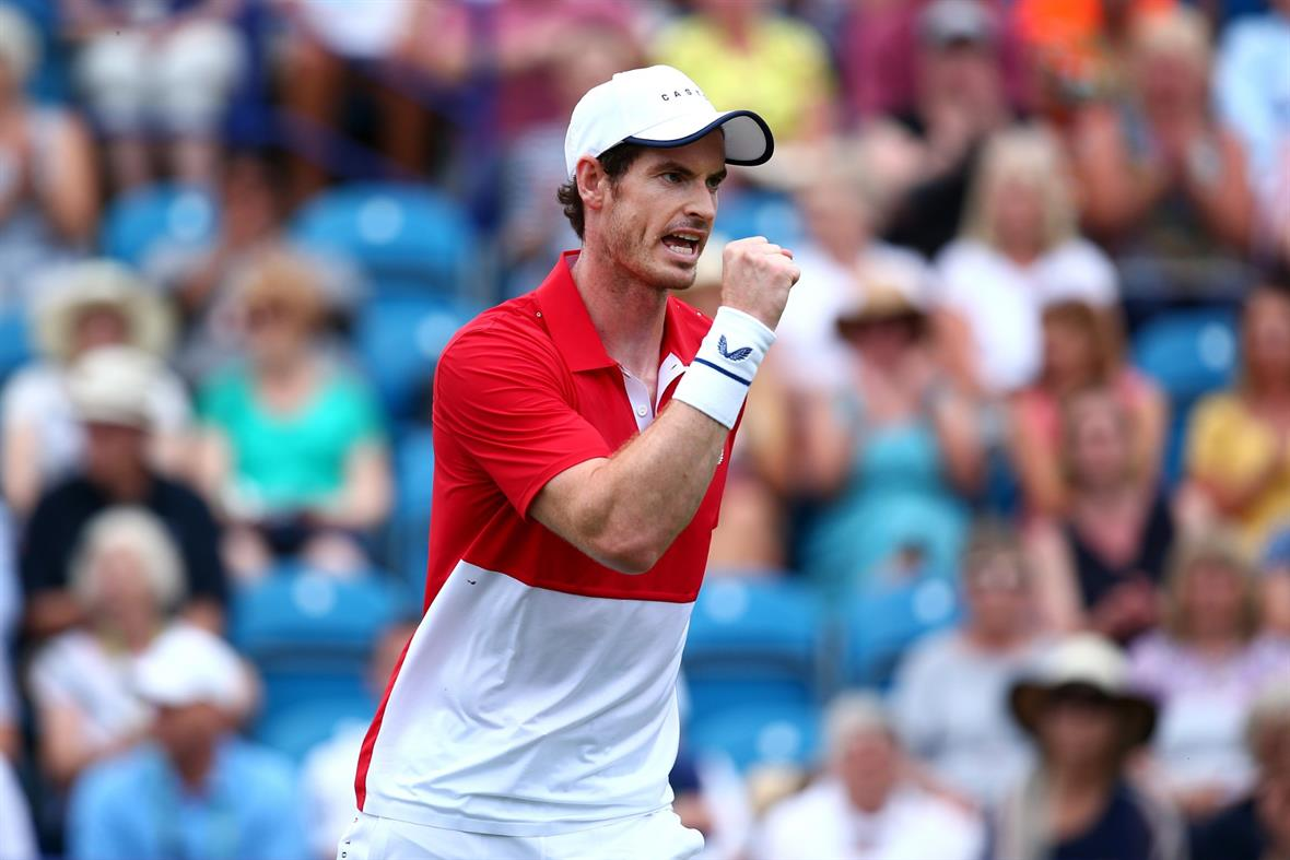 Andy Murray (Photograph: Charlie Crowhurst/Getty Images for LTA)