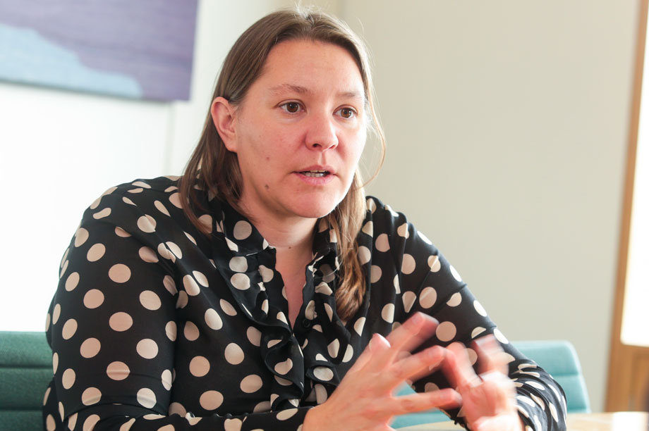 Anna Turley, the shadow minister for civil society