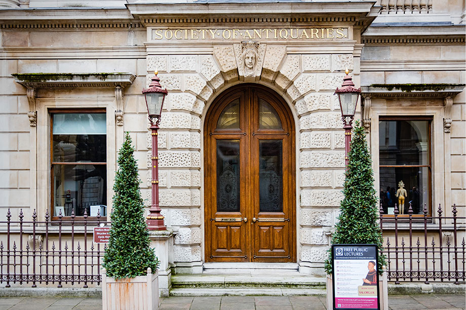 Society of Antiquaries (Photograph: Steve Taylor ARPS/Alamy)