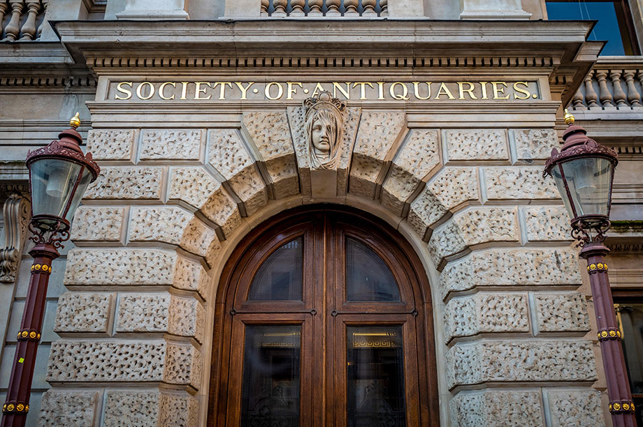 Society of Antiquaries (Photograph: Bailey-Cooper Photography/Alamy)