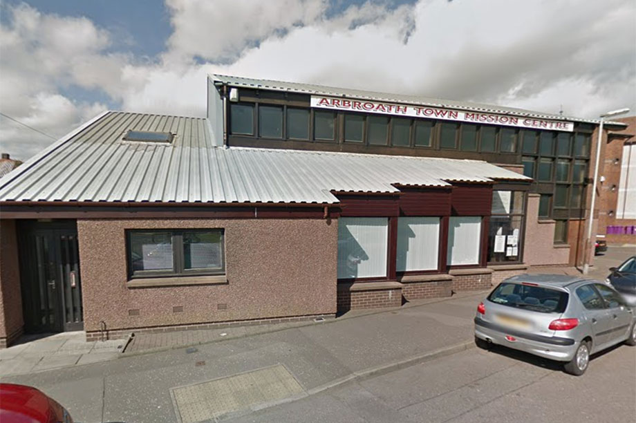 Arbroath Town Mission Centre (Photograph: Google)