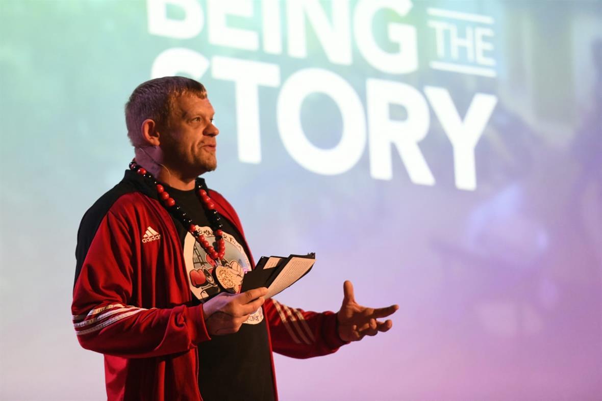 Steve Arnott (Photograph: Being the Story)
