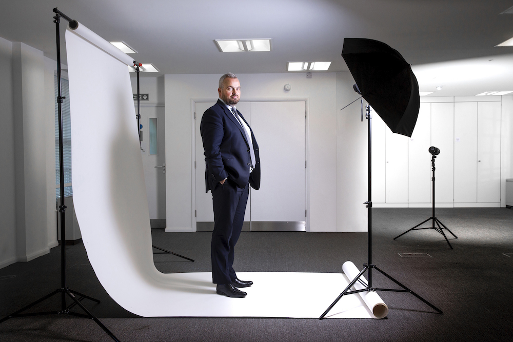 """We have put significant financial controls in place"" – Mark Atkinson, photographed by Colin Stout."