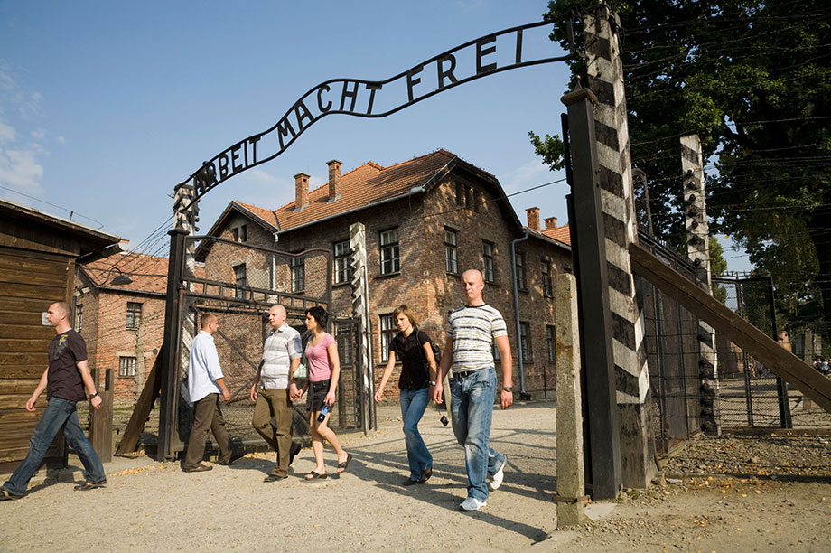 The HET organises trips to Auschwitz-Birkenau