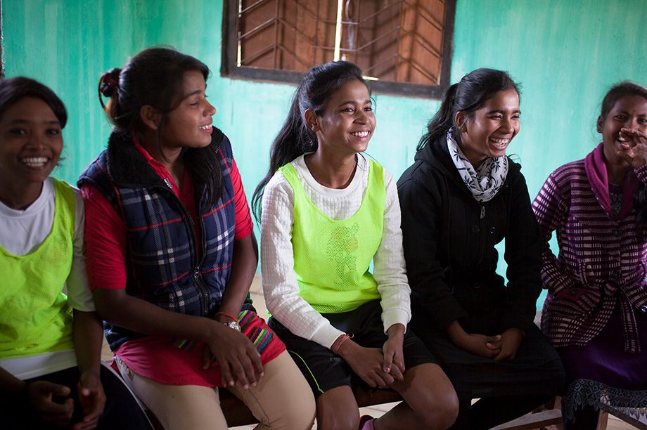 The project transformed the lives of thousands of women and young girls in Assam tea estates